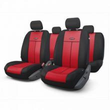 Купить Авто чехлы Объемная сетчатая ткань Красный Автопрофи tt902mbkrd для HONDA HR-V в Саратове