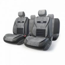 Купить Авто чехлы Экокожа Серый Автопрофи mlt1105gvbkdgym для HONDA HR-V в Саратове