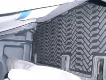 Купить Коврик салонный модельный (высокий борт) Fiat Scudo Panorama (2013-)  (3D с подпятником, 3 ряда) Aileron  в Саратове